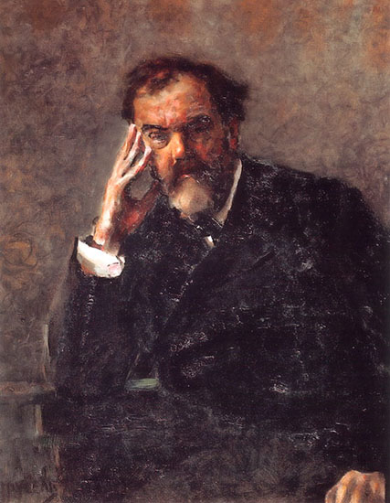 Portrait of Pyotr Konchalovsky